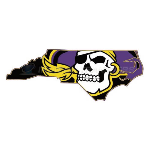 East Carolina Pirates Iron-on Stickers (Heat Transfers)NO.4314